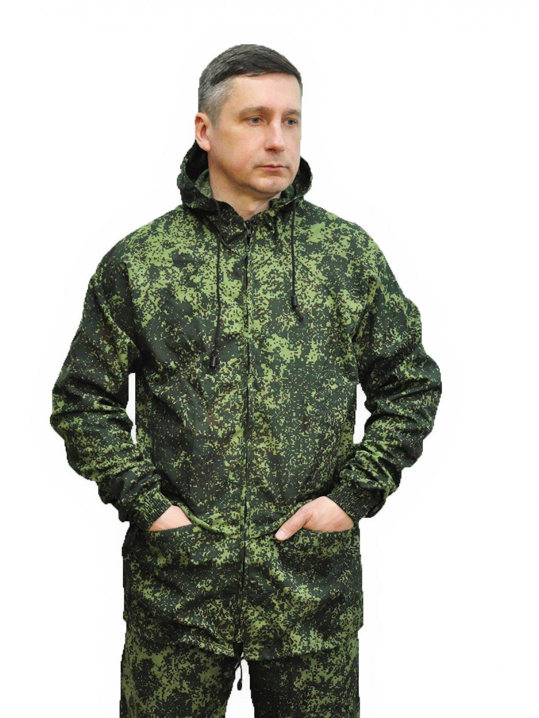 Костюм КОМБАТ бязь ГОСТ (Зеленая Цифра))